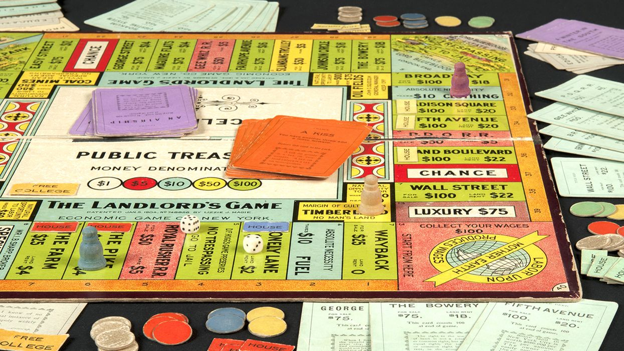 How monopoly was invented to demonstrate the evils of capitalism