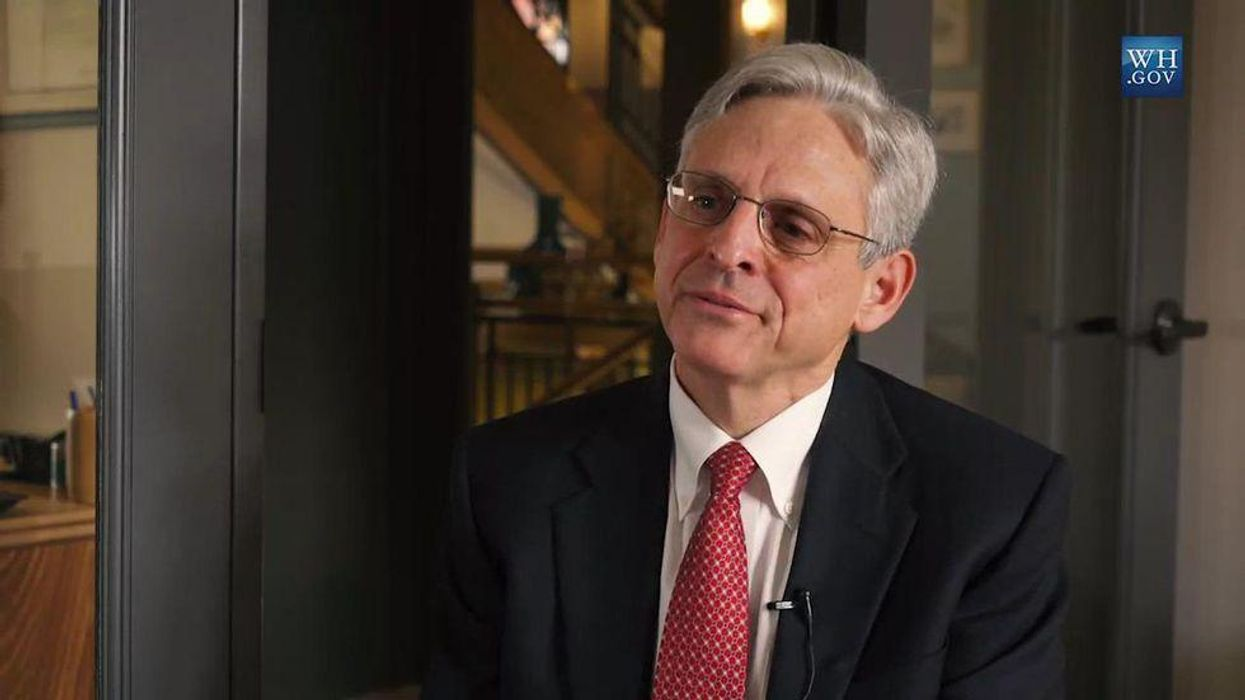 Merrick Garland thinks he's being neutral in the face of Trump's crimes. He's wrong -- he's being complicit