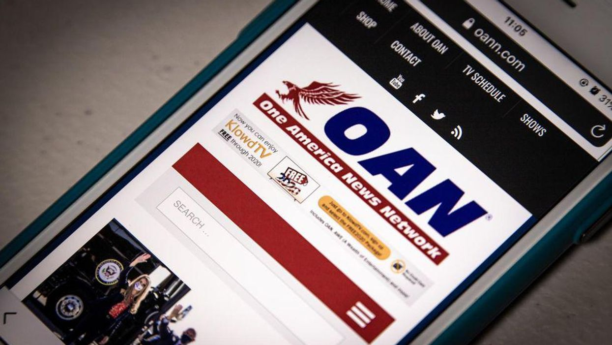 Lawsuit says OAN touted a 'mathematician' to call the election rigged — but he's really a swing set installer