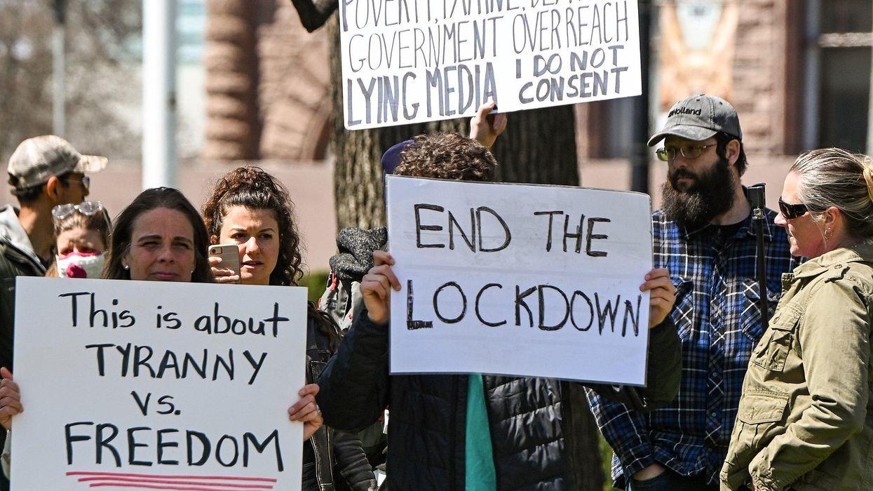 covid protest anti-vaxx anti-mask anti-lockdown