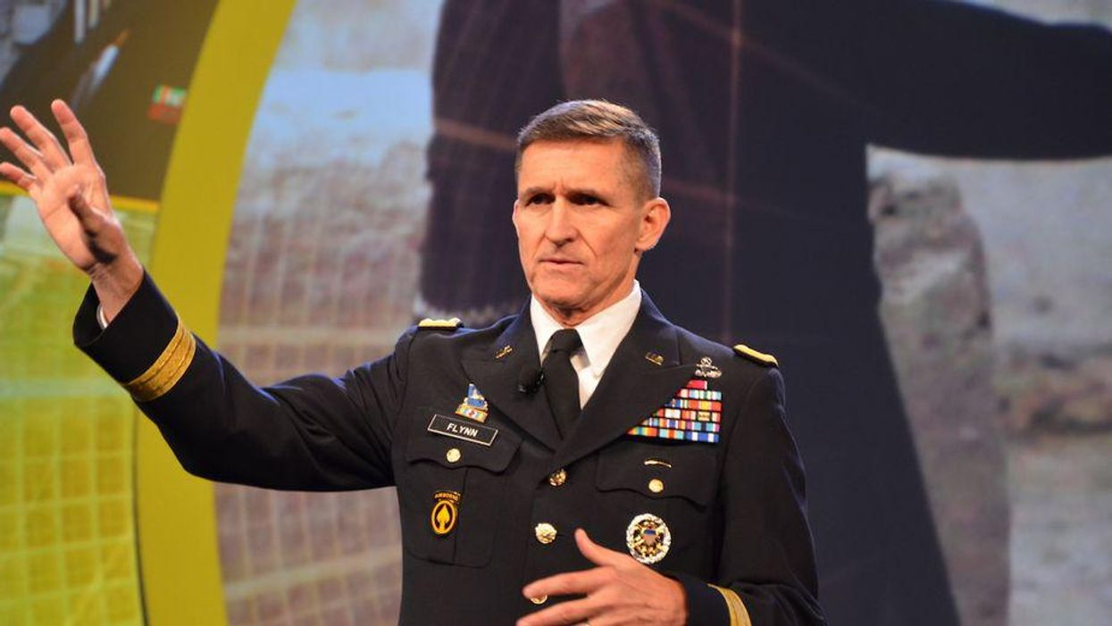 Here's why Michael Flynn is desperately trying to cover up his call for a coup in the US
