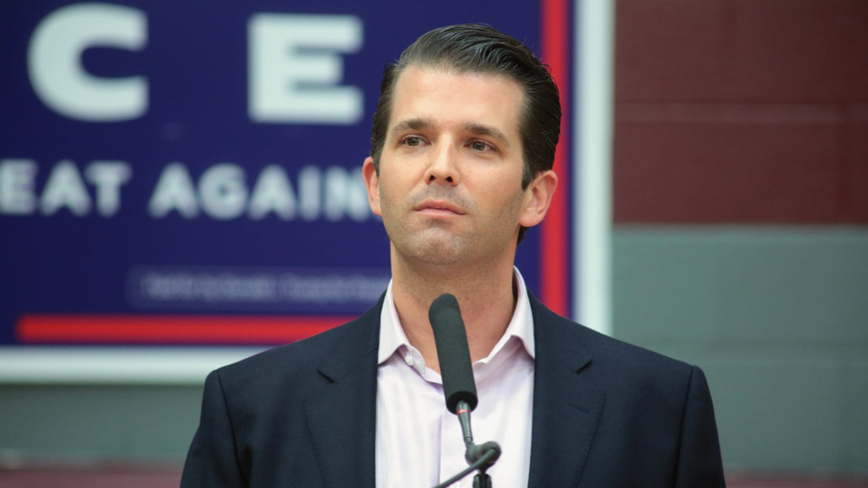 Donald Trump Jr. takes jab at Hunter Biden -- but there's one big problem with that
