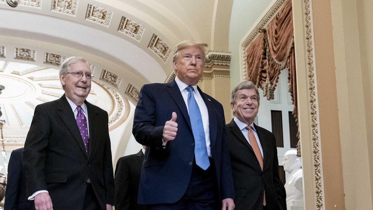 Donald Trump, Mitch McConnell, Senate Republicans