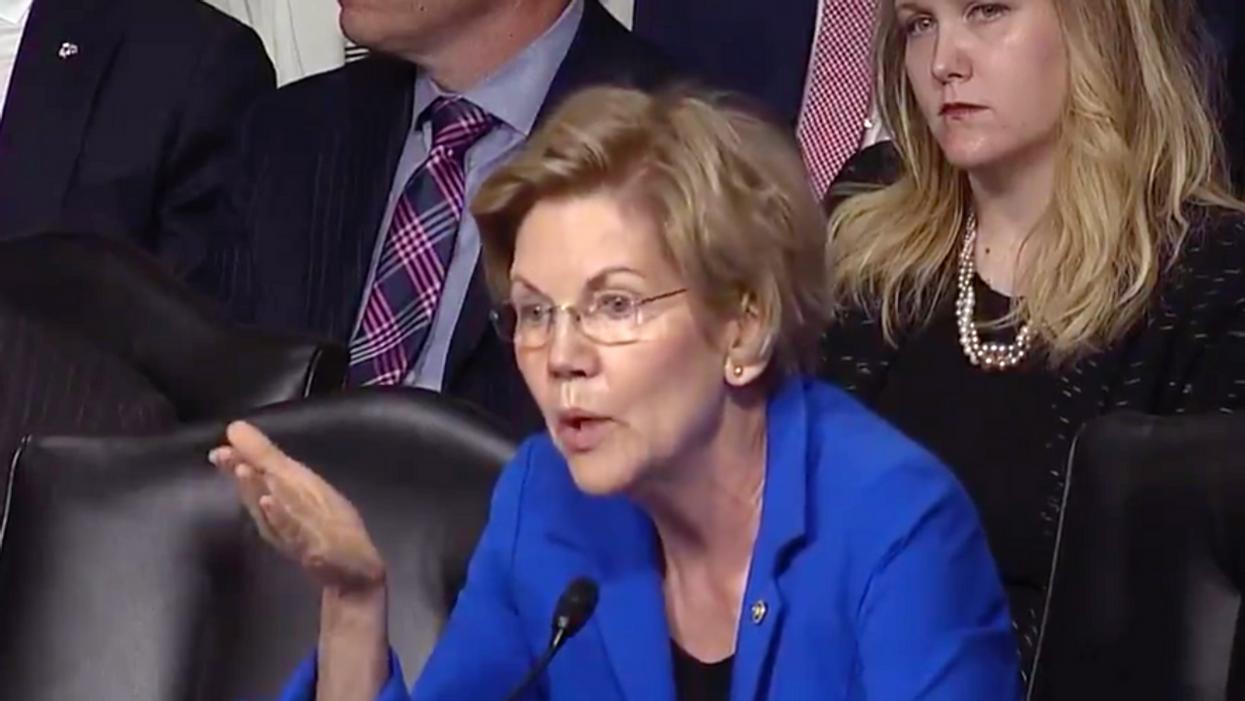 Warren calls Fed Chair Powell 'a dangerous man'