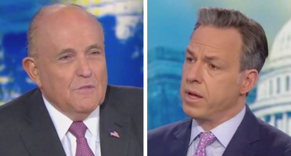 CNN's Jake Tapper corners Giuliani as he insists there's 'nothing wrong' with getting help from Russia