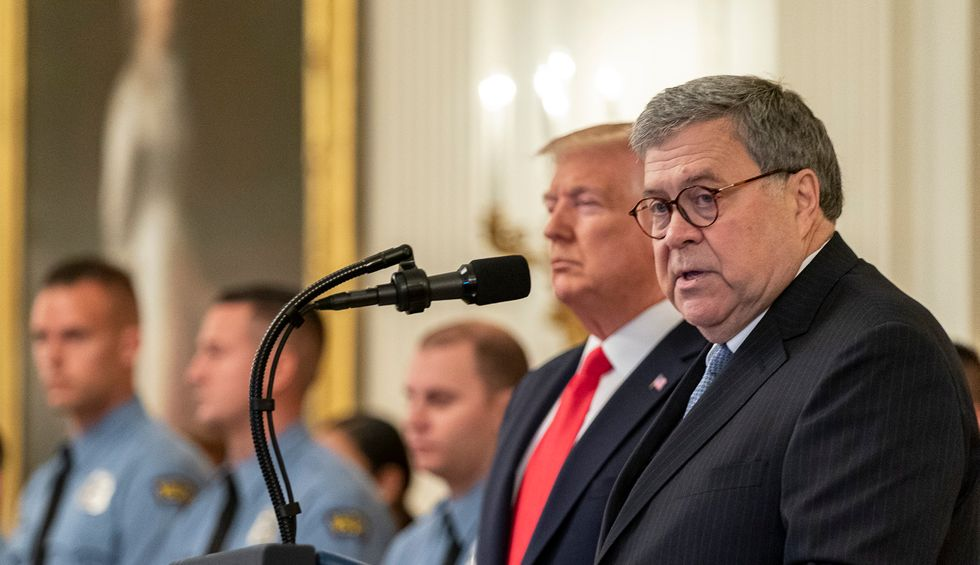 Bill Barr is wrong —he's the one who is 'playing with fire'