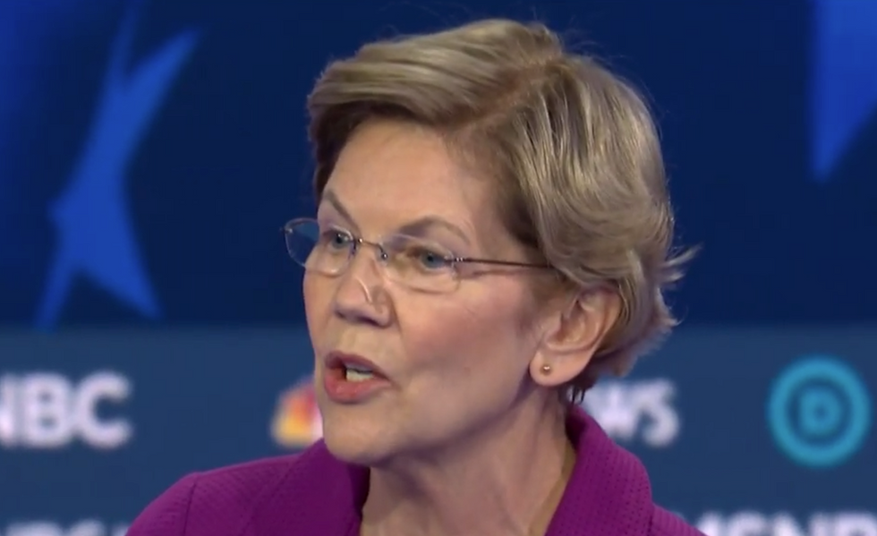 Warren accuses Trump and new postmaster general of 'sabotaging' the US Postal Service