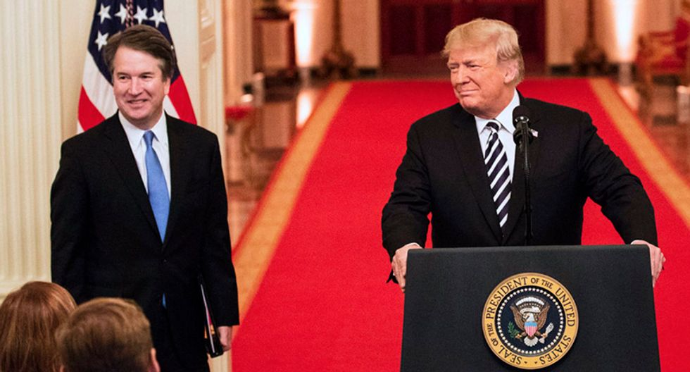 Law experts offer a reality check to Donald Trump after he threatens to run to the conservative Supreme Court if faced with impeachment