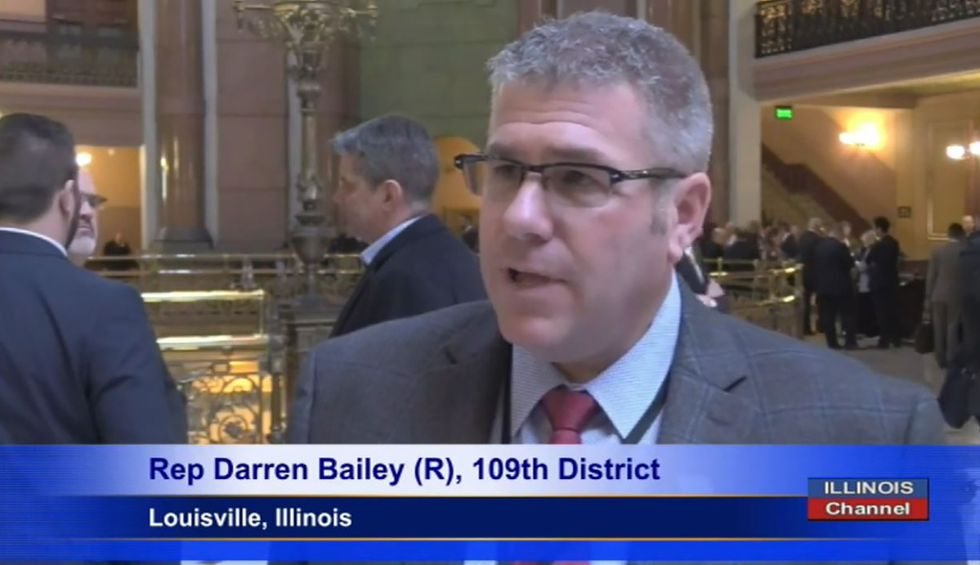 'Callous disregard for life': Far-right Illinois Republican thrown out of legislative session for refusing to wear a mask