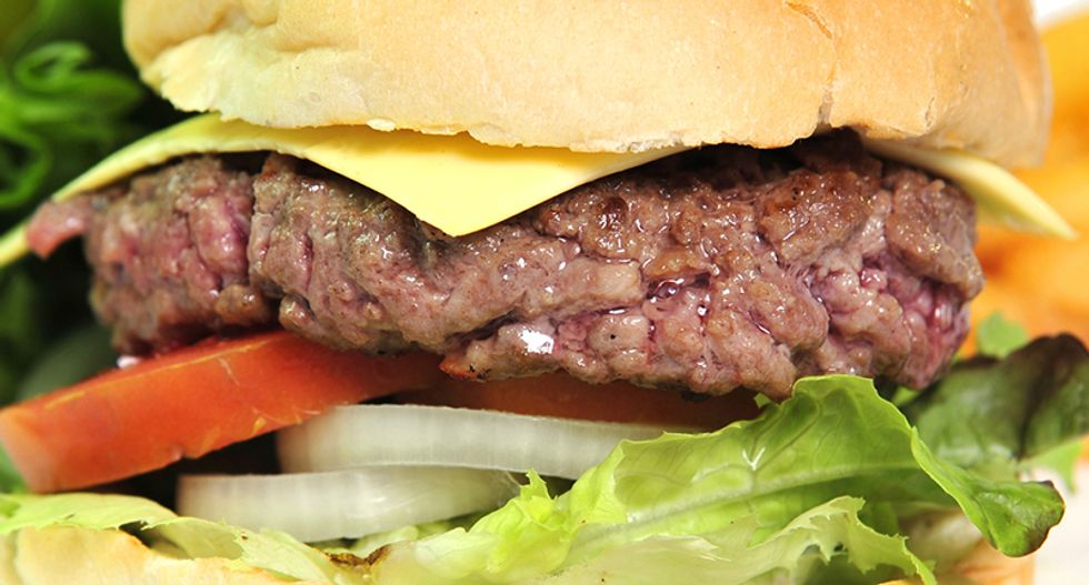 Here's what makes the impossible burger look — and taste — like real beef