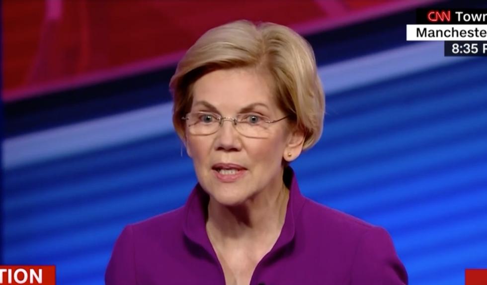 Elizabeth Warren's impressive rise just got even more stunning