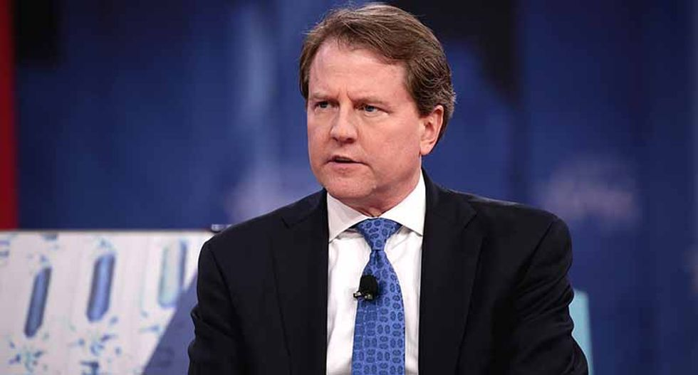 Trump calls former White House counsel Don McGahn a liar — and forbids him from responding