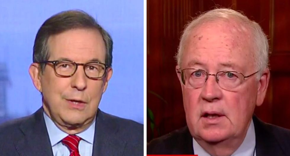 Barr-defender Ken Starr dismisses Mueller's concerns — then Fox News' Chris Wallace educates him with damning timeline
