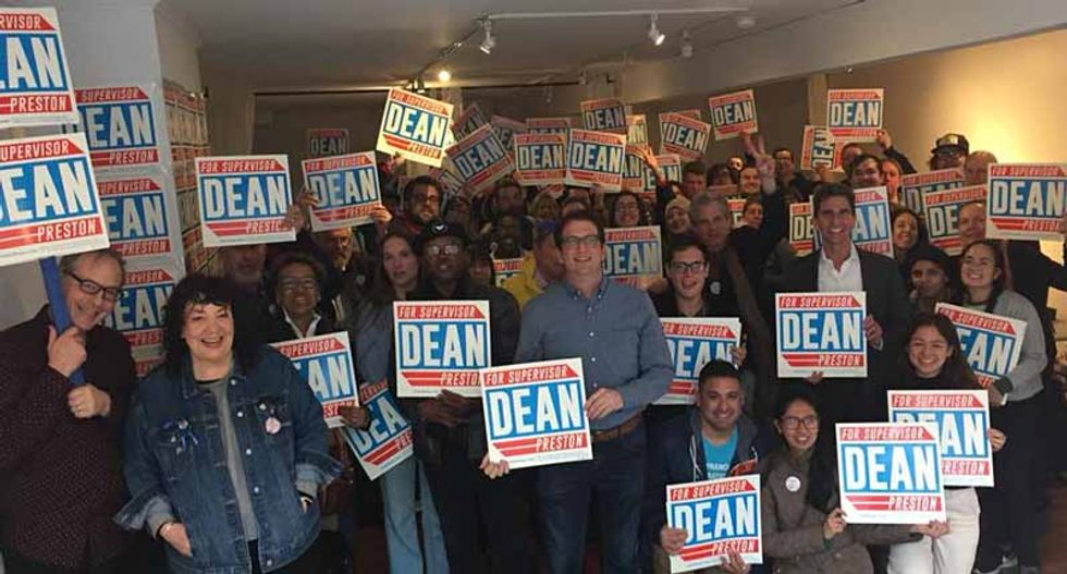 Why this San Francisco city council candidate Dean Preston is embracing the 'democratic socialist' label