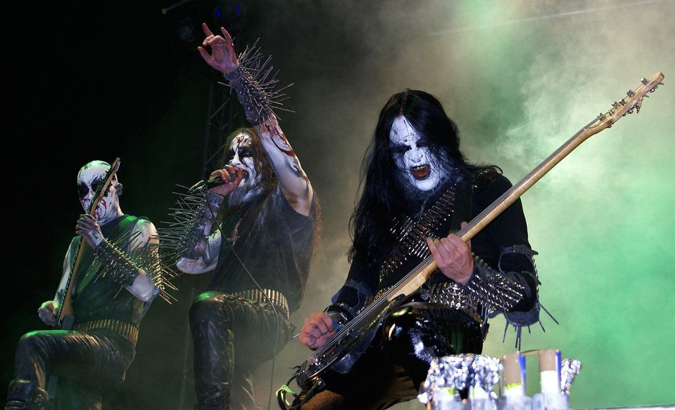 How a music genre known as 'black metal' came to be related to church burnings