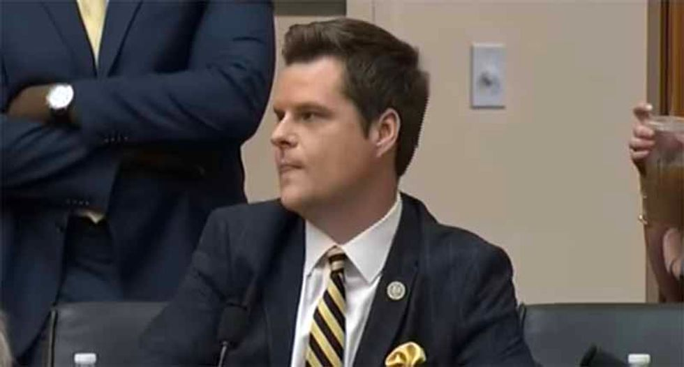 National security expert appalled by Matt Gaetz cell phone stunt: 'I cannot emphasize enough how serious this is'