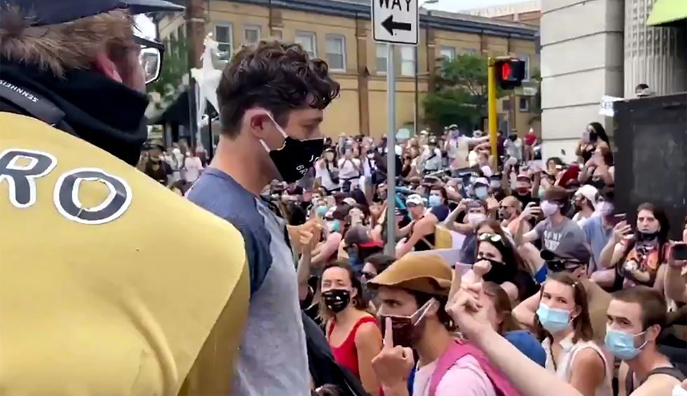 Minneapolis Mayor Jacob Frey 'willingly subjects himself to humiliation' — gets booed out of Black Lives Matter protest
