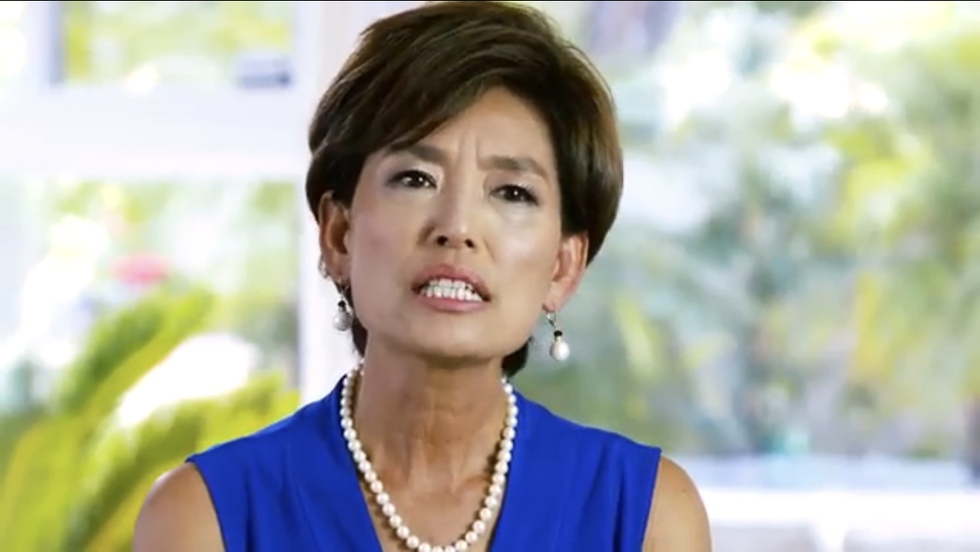 Desperate GOP Congressional Candidate Runs Ad Featuring Laudatory Quotes From Herself