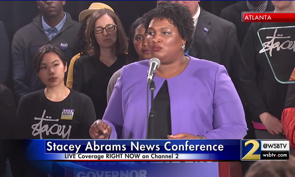 Stacey Abrams files new lawsuit detailing Brian Kemp's massive voter suppression effort in Georgia
