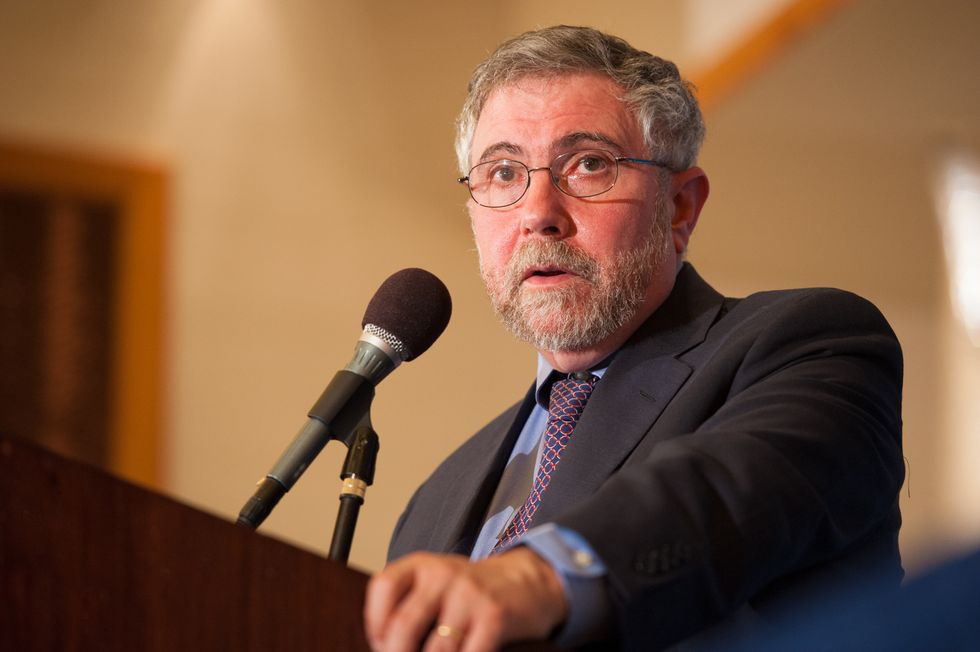 Paul Krugman Debunks the Conservative Myth of the Power of Unfettered Capitalism