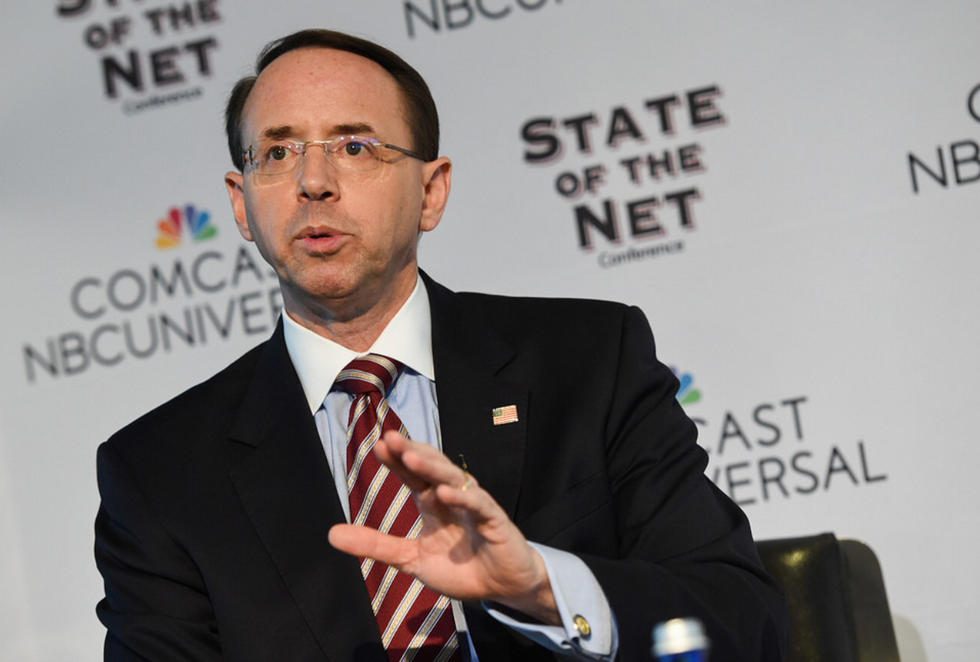 Here's Why It Matters If Deputy AG Rod Rosenstein Resigns  -  Or Forces Trump to Fire Him