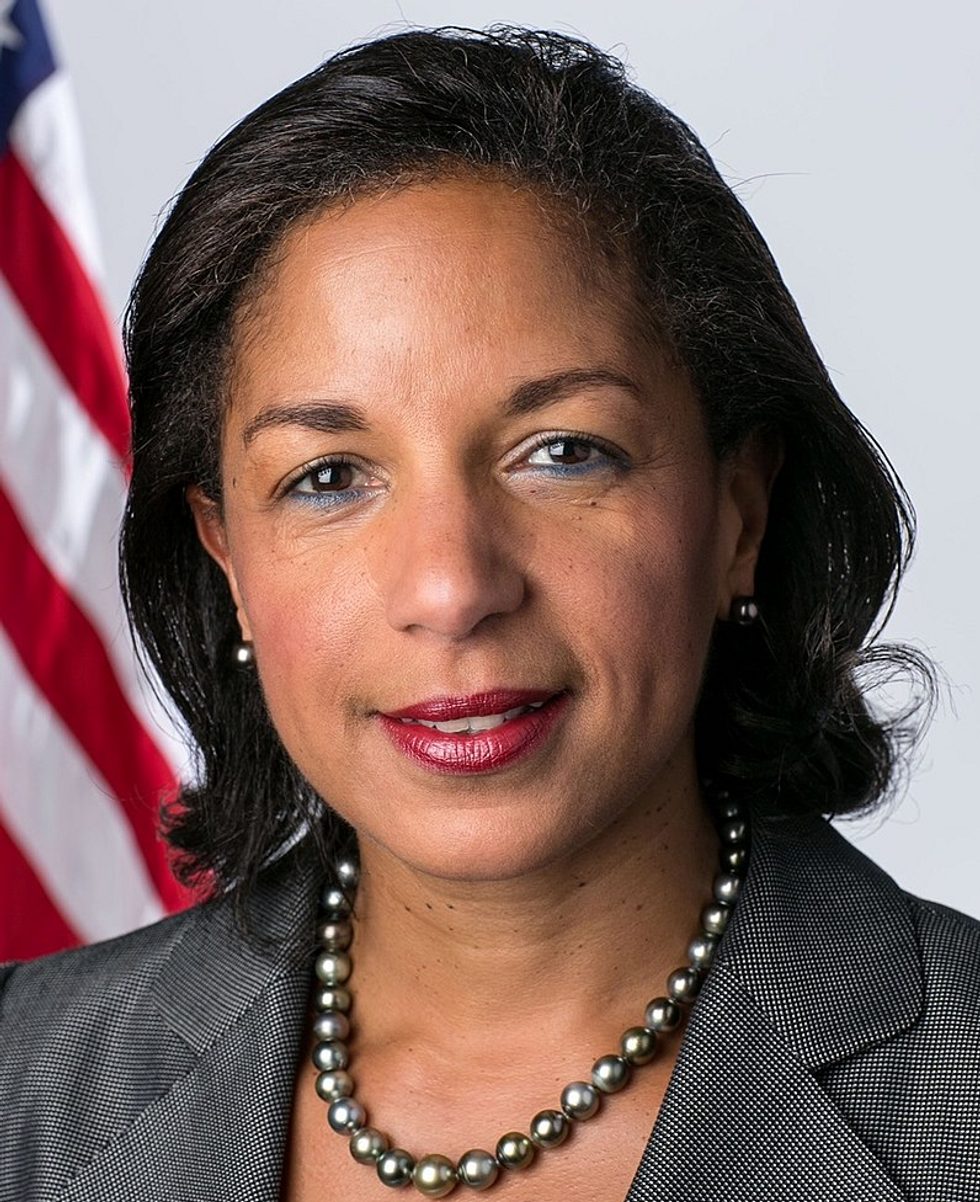 Susan Rice Announces She May Run to Defeat Susan Collins for Her Betrayal of Women