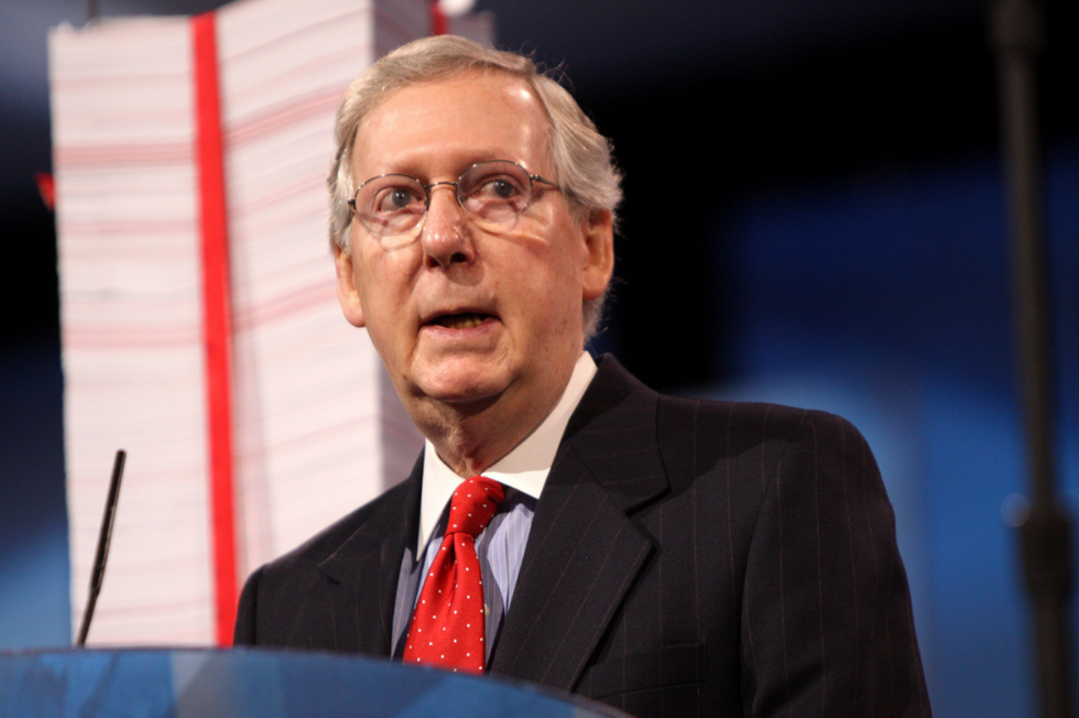 Mitch McConnell Eyes Entitlements After Tax Cuts Failed to Pay for Themselves