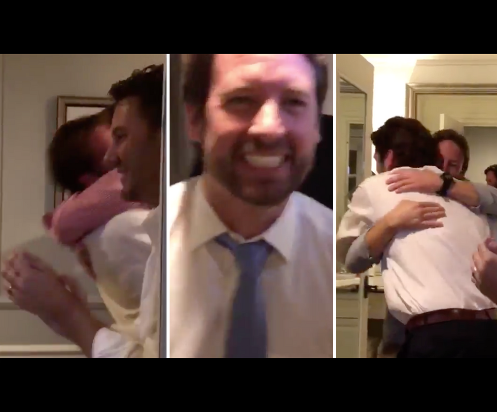 Watch This Democratic Congressman-Elect Jump for Joy After Pulling Off a Surprise Victory in South Carolina: 'It's Called, Baby!'