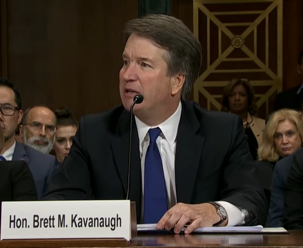 Kavanaugh Is Spooked: Here's Why His New Op-ed Shows He's Desperate  - and It's Based on a Lie