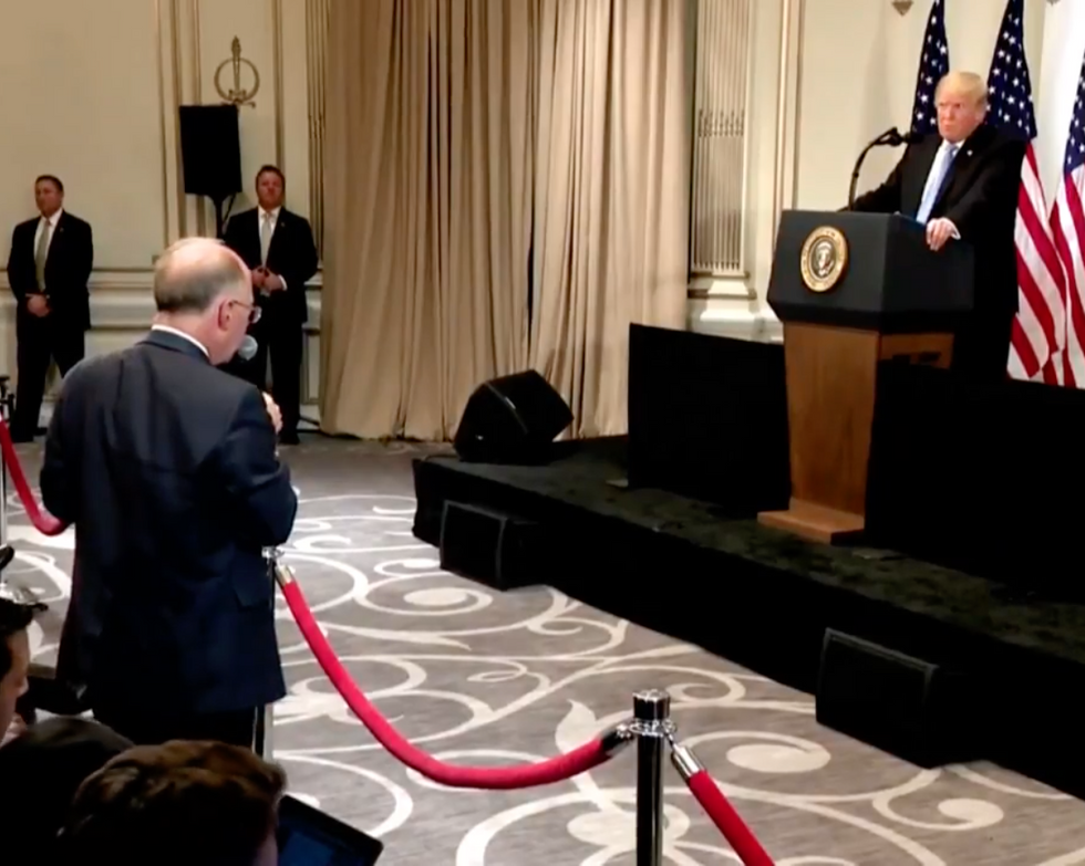 These Are 7 of the Wildest and Most Unhinged Moments from Trump's Off-the-Rails Press Conference