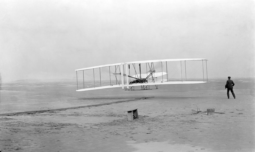 We've been celebrating two Wright Brothers when we should be celebrating just one