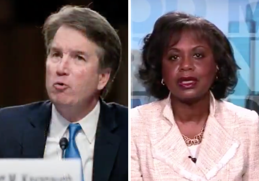 Watch: Anita Hill Explains Why Brett Kavanaugh Has 'Burden of Persuasion' in Sexual Assault Allegation