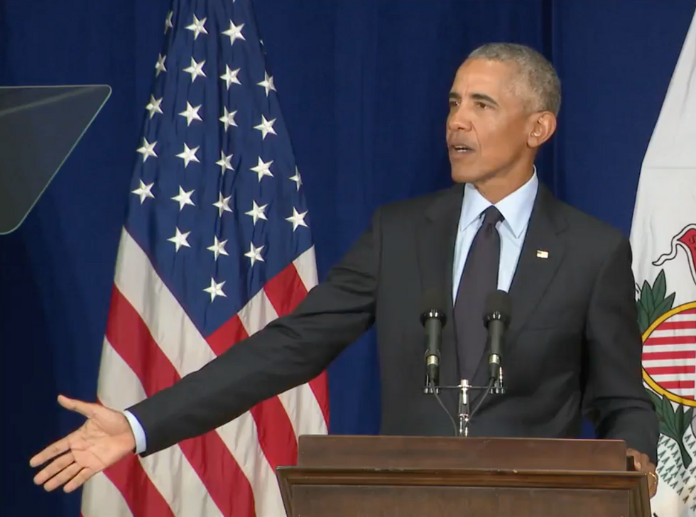 Here Are 9 of Obama's Most Devastating Attacks in His Fiery Speech Condemning Trump's GOP