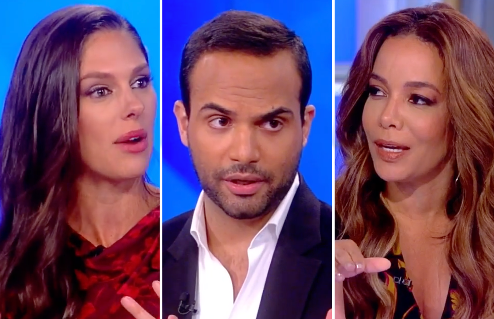 The View Corners Papadopoulos on Whether He Told Trump About Clinton Emails: 'No Recollection' and 'Not Doing It Are Two Different Things'