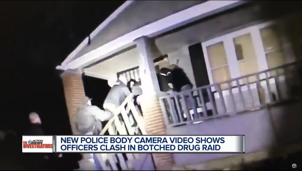 Watch: Undercover Detroit narc squads brawl as they try to arrest each other