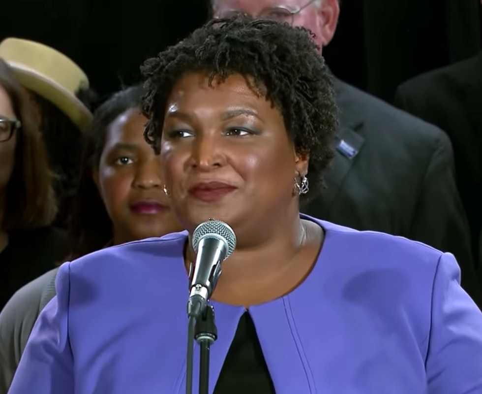 Stacey Abrams isn't disappearing any time soon