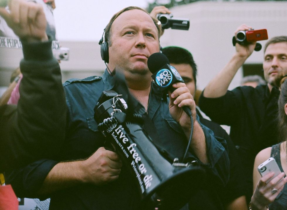 The Mainstreaming of Alex Jones: Here's How A Right-Wing Conspiracy Theorist Went from Fringe to Insider in Trump's America