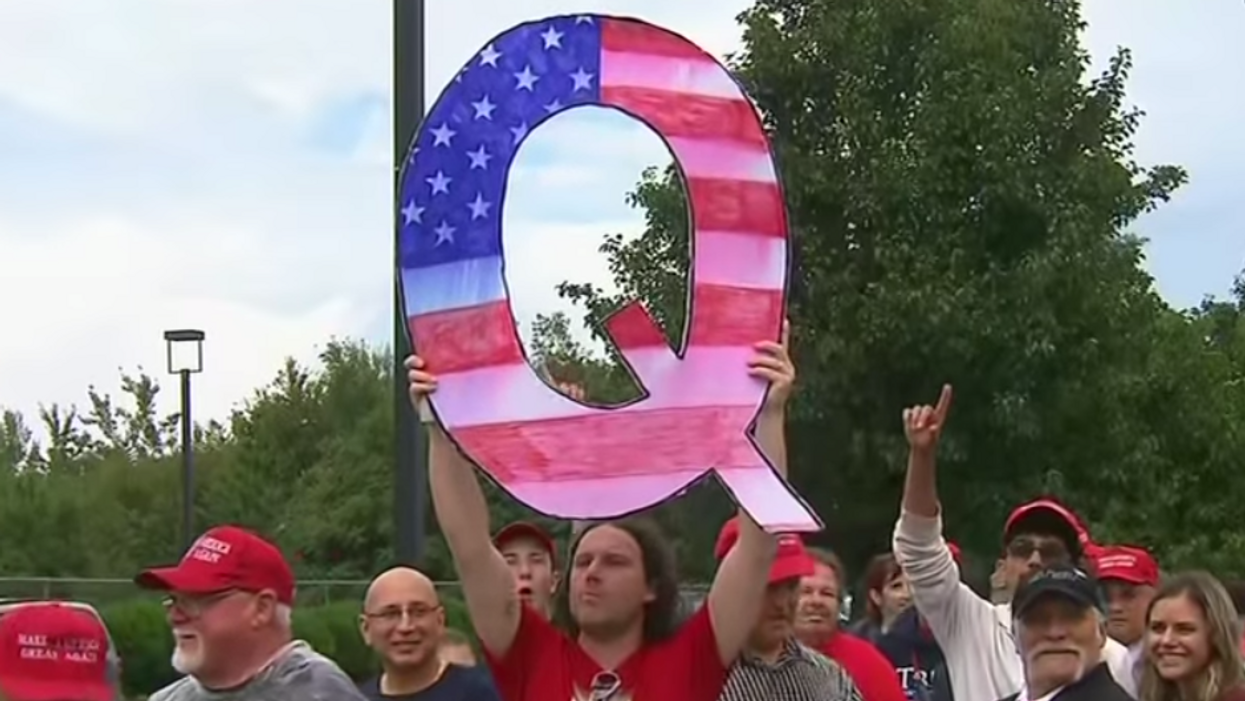 Religion expert breaks down the toxic union of QAnon, white supremacy and the fading evangelical movement