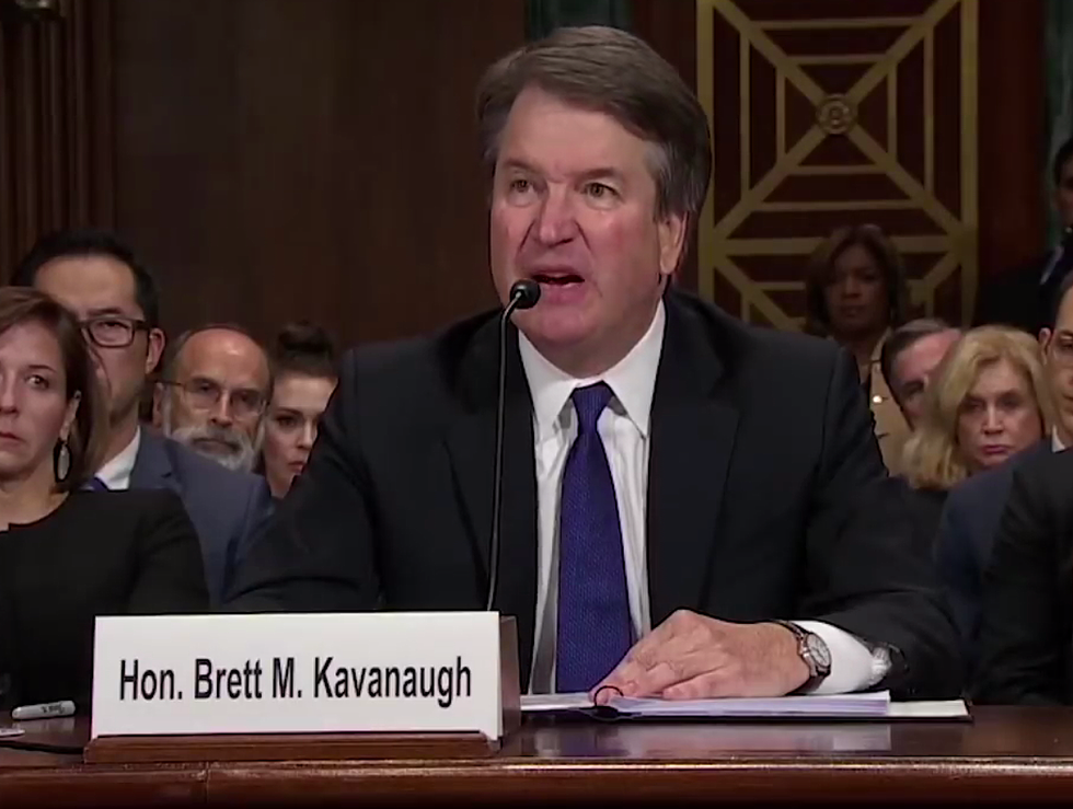 Retired Supreme Court Justice Says Kavanaugh's Behavior at the Senate Hearing Disqualifies Him: 'Senators Should Pay Attention to This'