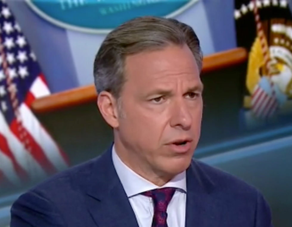 CNN's Jake Tapper Mocks Kellyanne Conway's Ridiculous Claim that Everyone's 'Obsessed' with Trump