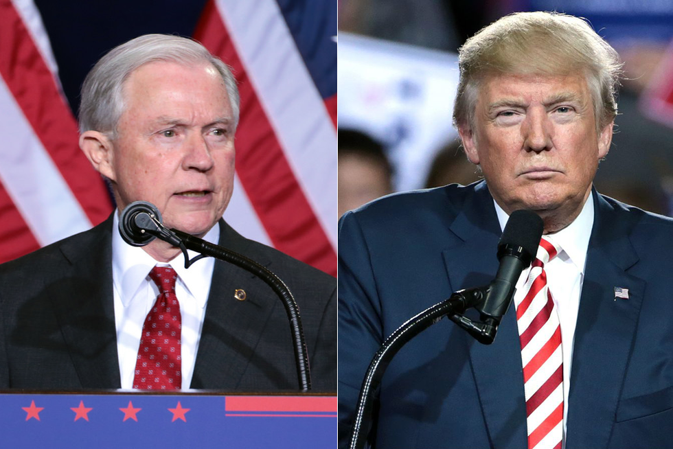 Sessions Issues Stunning Rebuke After Trump Wonders 'What Kind of Man' He Let Run the DOJ: I 'Will Not Be Improperly Influenced'