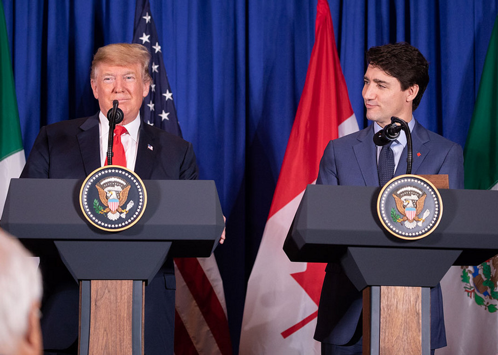 Justin Trudeau just humiliated Trump at the signing ceremony for the new NAFTA