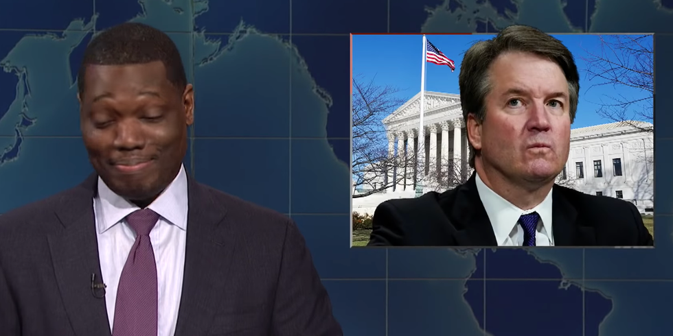 SNL's Michael Che Rips GOP Over Kavanaugh: 'Pick Another Dude from Your Illuminati Lizard Meetings'