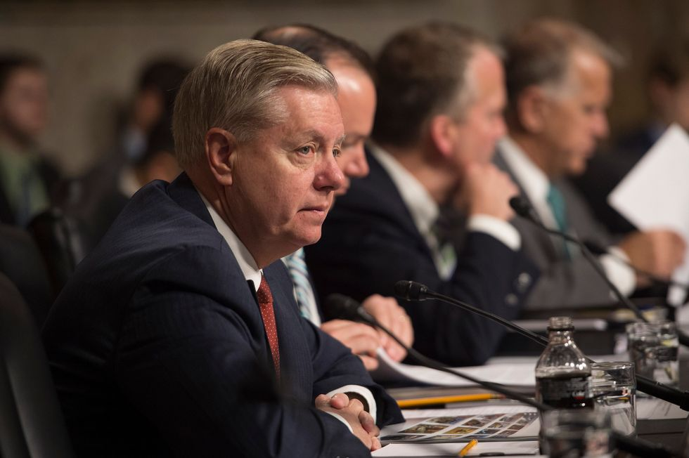 Sen. Lindsey Graham Abruptly Dismisses Woman Saying She Was Raped: 'You Needed to Go to the Cops'
