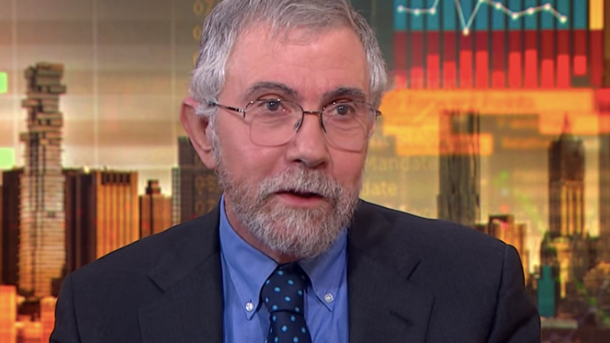 'Conservatives beware': Paul Krugman explains why Biden's ambitions are a big threat to the GOP