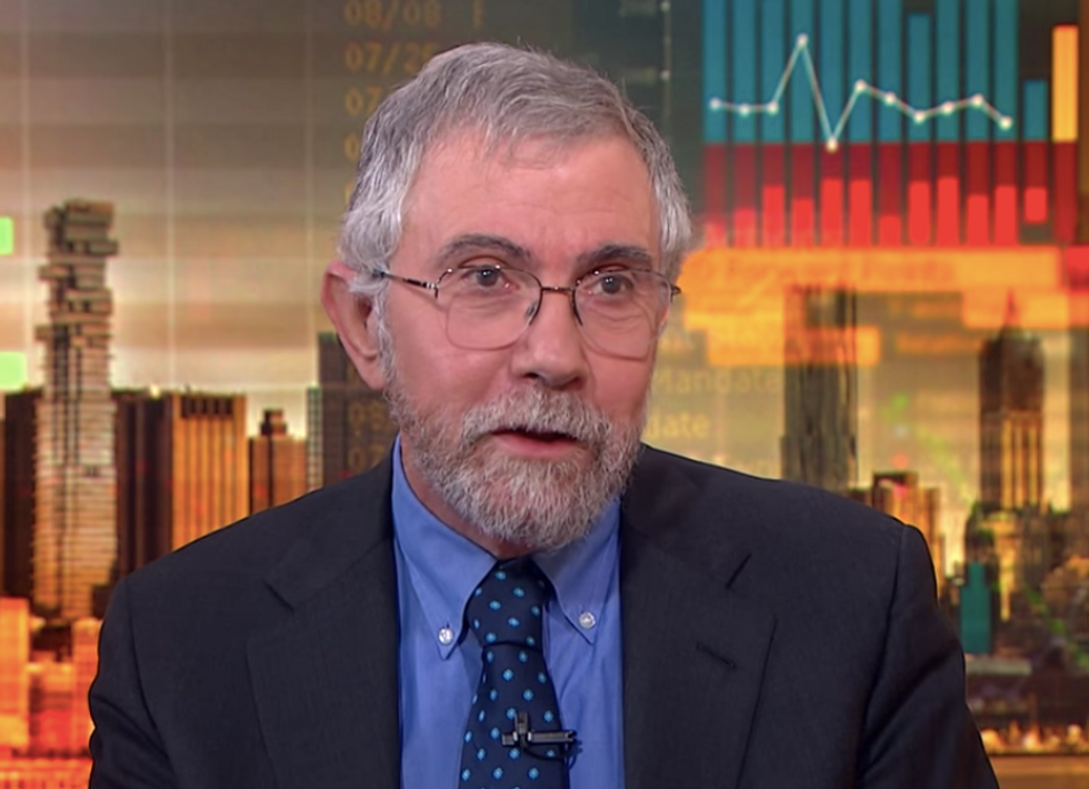 Paul Krugman Explains Why Support for Socialism Is Growing in the United States
