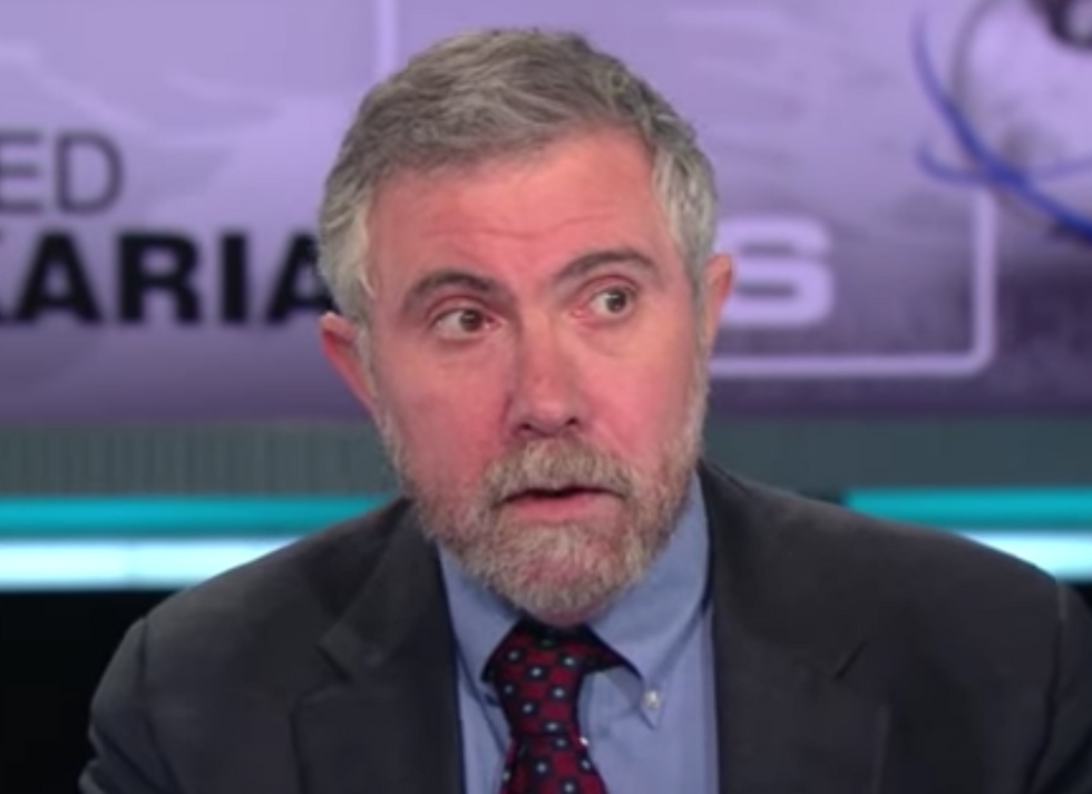 Paul Krugman Details the GOP's Devastating Plan If They Survive the Midterms  -  and It's All About 'Starving the Beast'