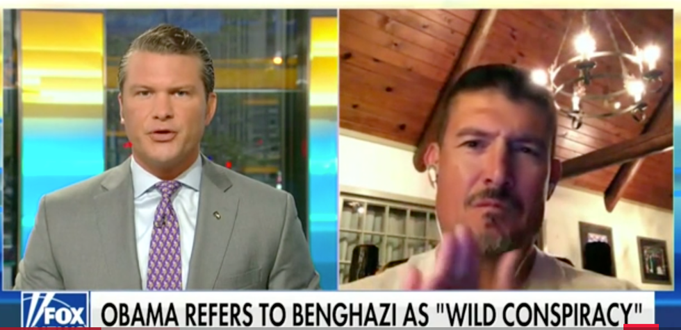Fox News Host Warns Benghazi Pundit to 'Be Careful' After He Threatens to 'Choke' Former President Barack Obama