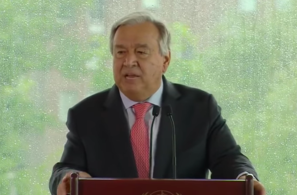 UN Chief Warns of 'Existential Threat' to Humanity from Climate Change: 'Moving Faster Than We Are'