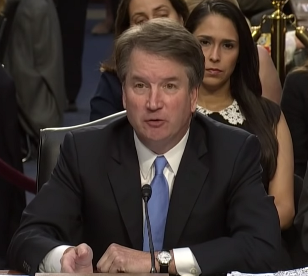 This is the Kavanaugh Confirmation Endgame